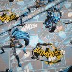 Original Batmann Jersey Stoff