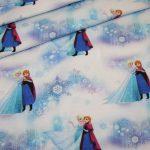 Original Walt Disney Jersey Stoff Die Eiskönigin Frozen Anna und Elsa