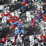 Original Superman Jersey Stoff